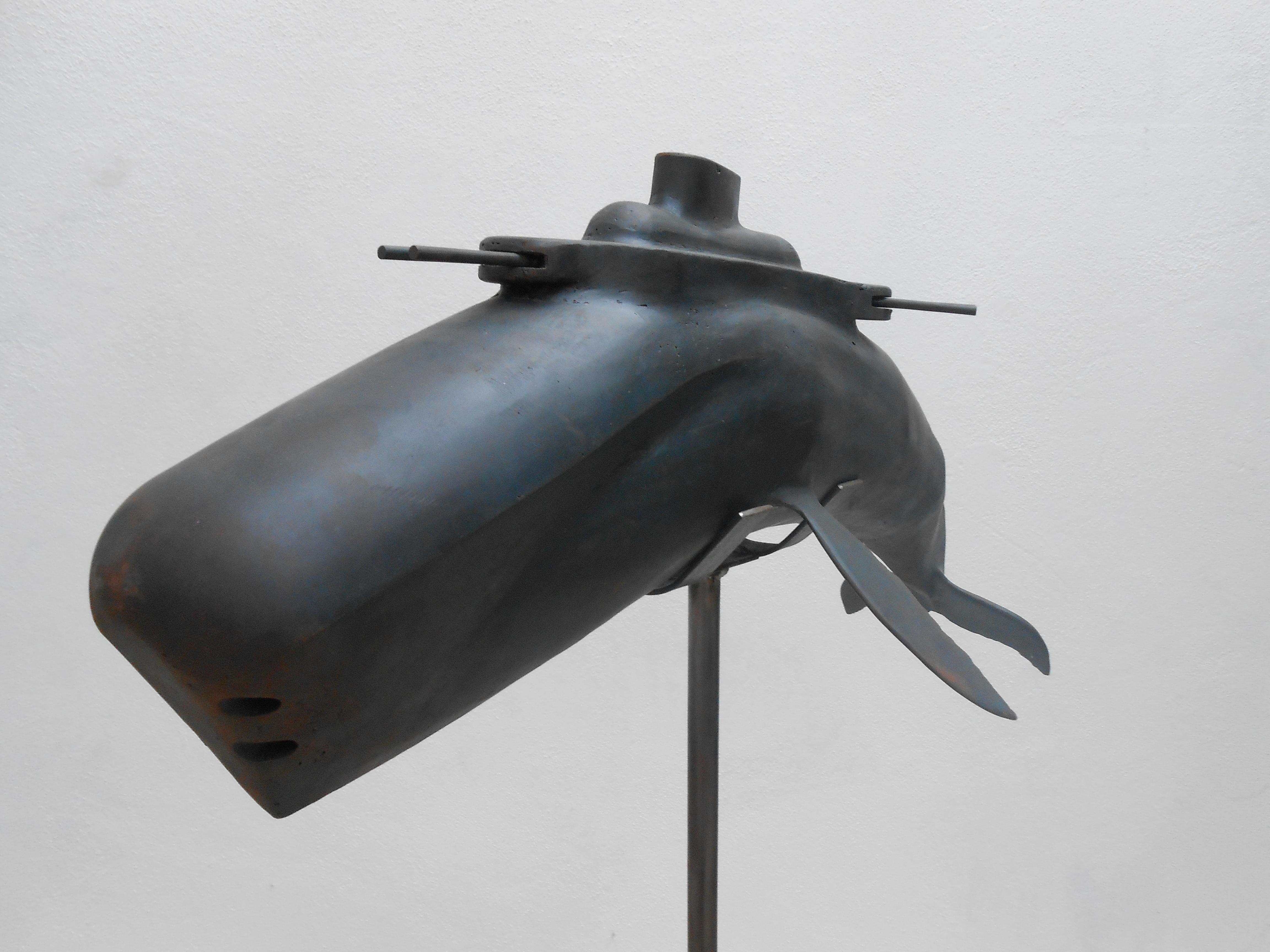Killer Whale - 2012  Ijzer 20 x 80 x 30 cm  Interesse? Contacteer ons