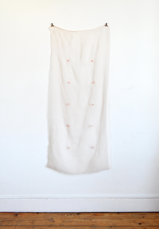 Artemis- 2018  Broderie op organza 142 x 60 cm Interesse? Contacteer ons