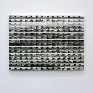 untitled  - 2016 - acrylic on Igepa grayboard on wooden panel 150 x 110 cm