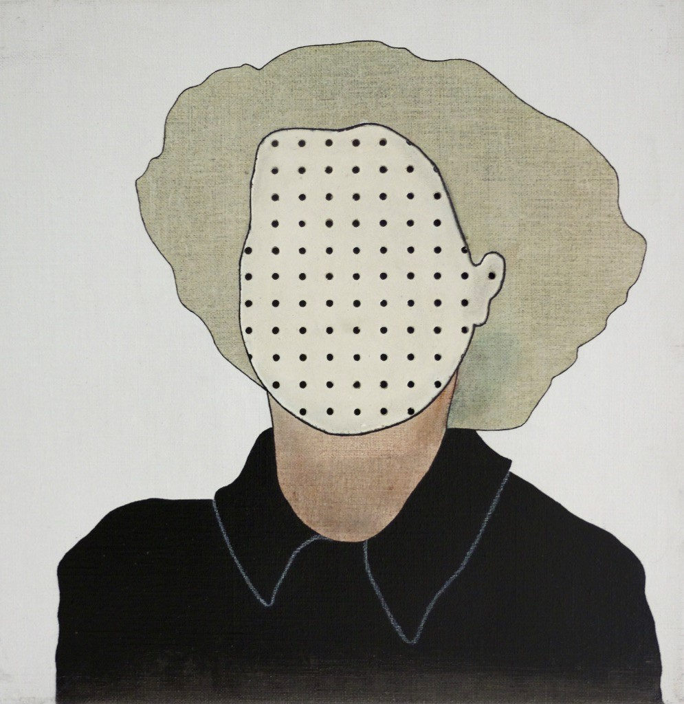 Agatha Hstoricals - 2018  acryl/ inkt/pigment/hardboard op canvas 40 x 40 cm Interesse? Contacteer ons