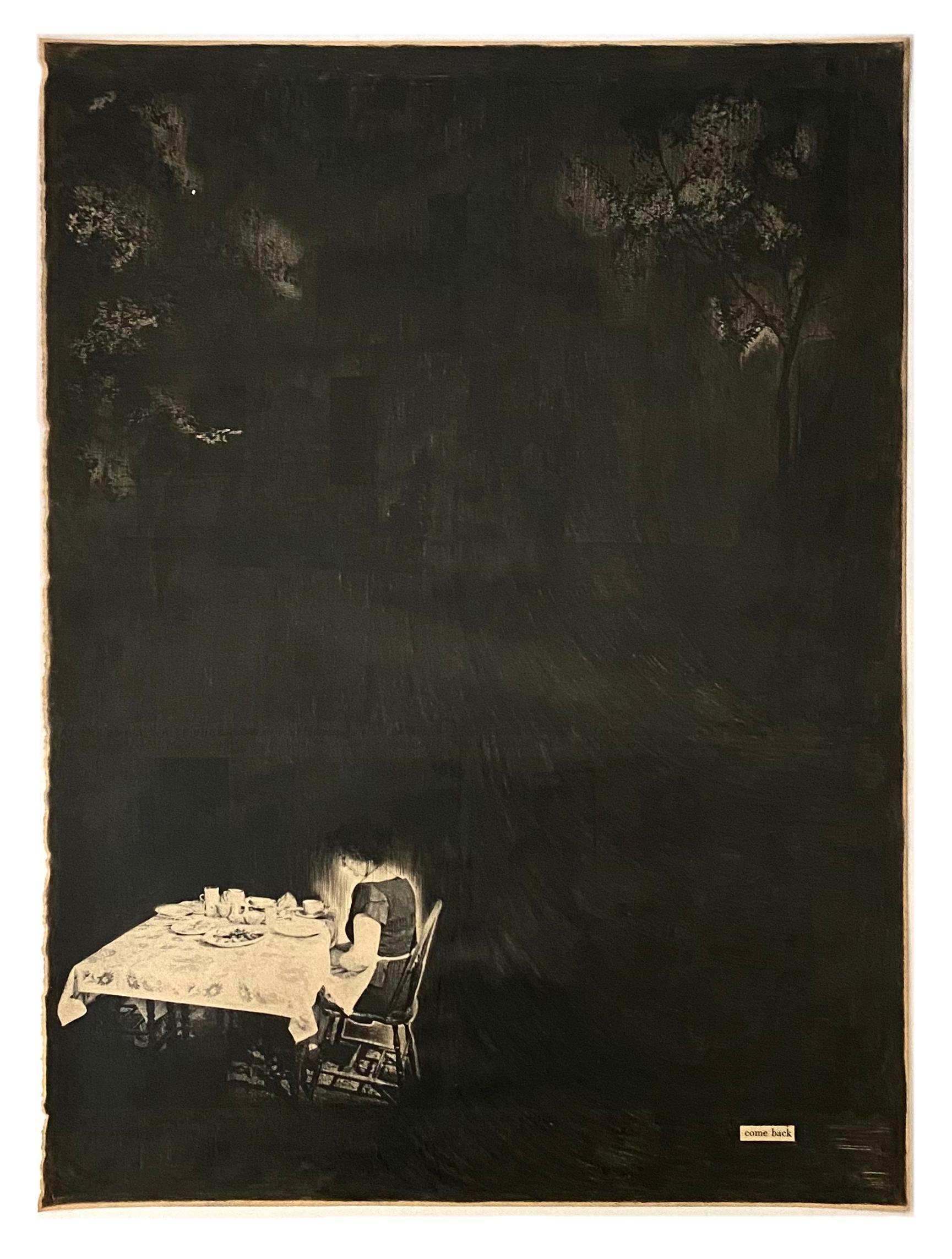 Black Pages Come Back- 2021  Aquarelpotlood op magazine 26 x 35 cm   framed 950 € Interesse? Contacteer ons