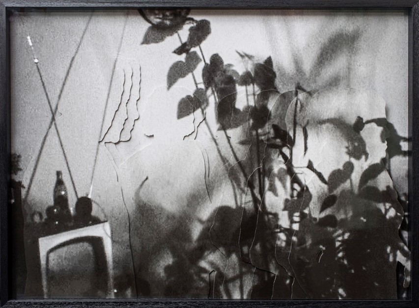 Time Tunnel 4- 2018  Silver gelatin print, photo collage Ed 2 + 1 AP 85 x 115 cm  Framed Interesse? Contacteer ons
