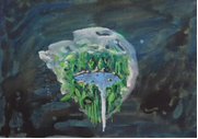 N.t. - 2012  Gouache on paper 25.8 x 36 cm