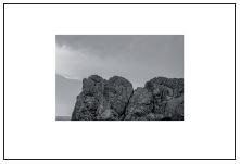 two birds - 2017 - afdruk op Hahnemühle  Fine Art Paper Framed 21 x 30 cm ed. 1/5